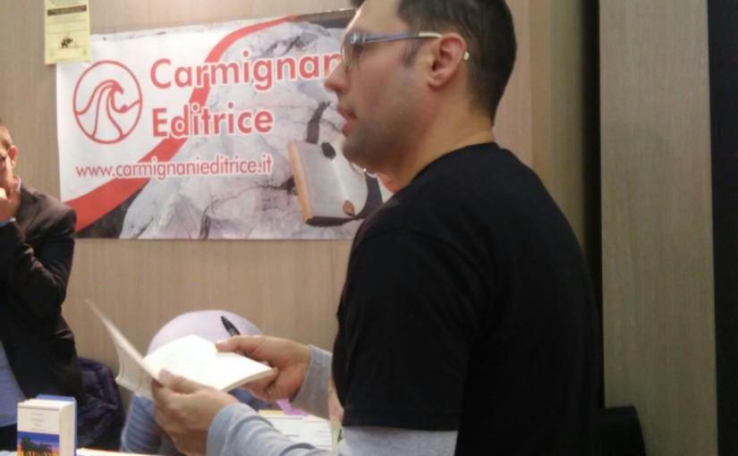 Lo scrittore Andrea Falchi al Pisa Book Festival col ciclo degli effetti