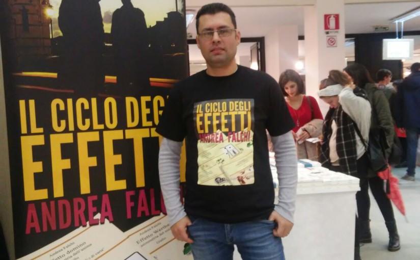 Lo scrittore Andrea Falchi sarà al Modena Buk il 18 e 19 Febbraio 2017