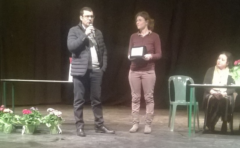 Lo scrittore Andrea Falchi vince il terzo premio con il racconto La strada è vita