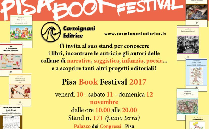 Lo scrittore Andrea Falchi al Pisa Book Festival con Il ciclo degli effetti