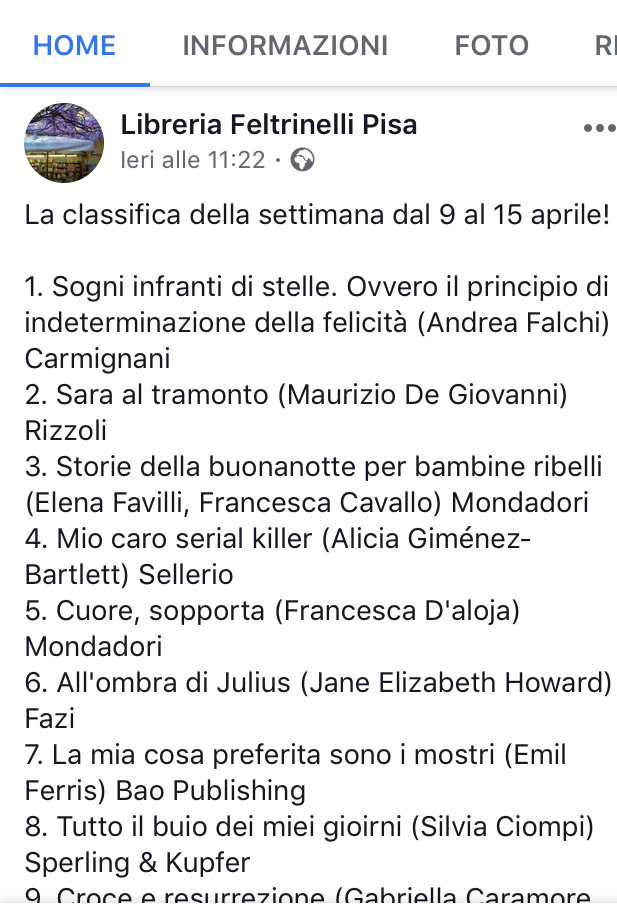 Classifica_feltrinelli