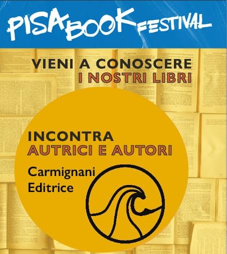 Andrea Falchi scrittore al Pisa Book Festival 2019