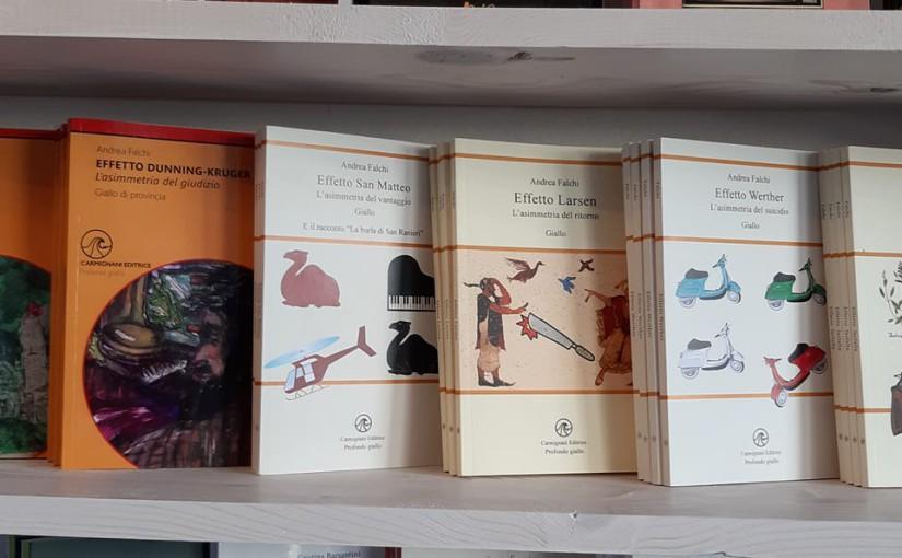 Andrea Falchi alla libreria Civico 14 a Marina di Pisa
