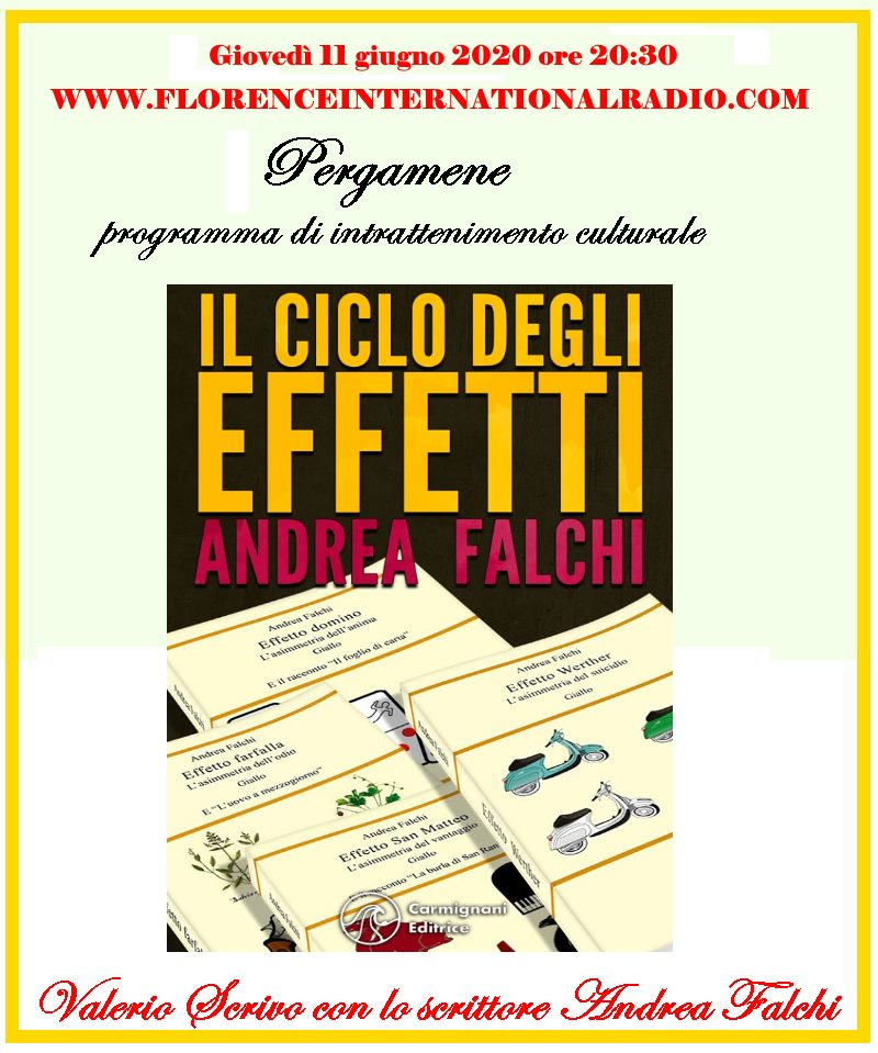 In radio Andrea Falchi